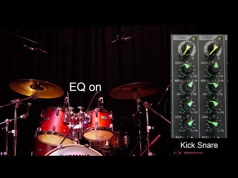 How To Mix Live Music Chapter 10 – EQ for Drums