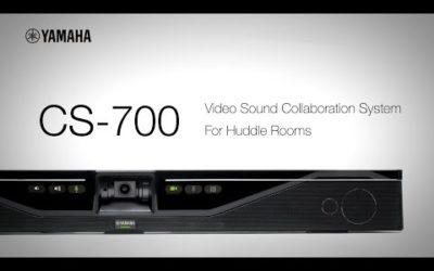 Yamaha CS 700 Improving the huddle room experience
