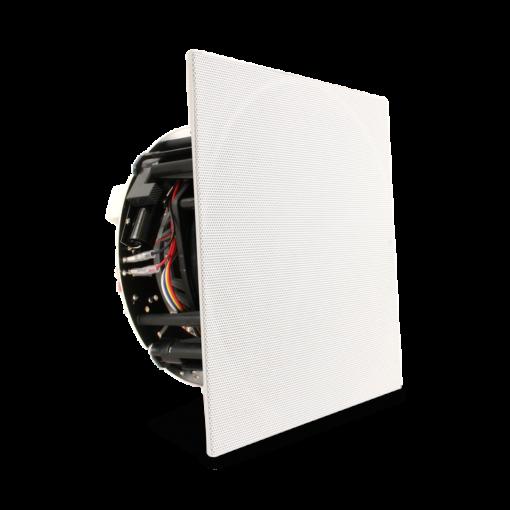 Revel C563DT innfelt stereo-høyttaler front med firkantet deksel