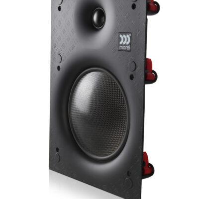 Morel PMW600 innfelt slim høyttaler vinklet forside