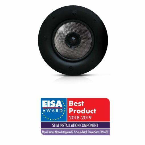 Morel PMC600 innfelt tak-høyttaler med Eisa-award