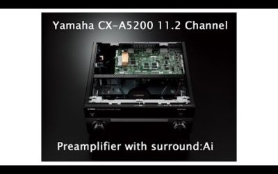 Yamaha CX-A5200 AVENTAGE 11.2-Channel AV Processor Unboxing