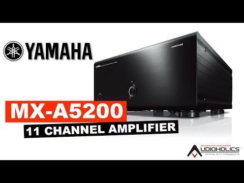 Yamaha MX-A5200 150wpc x 11CH Amplifier Unboxing