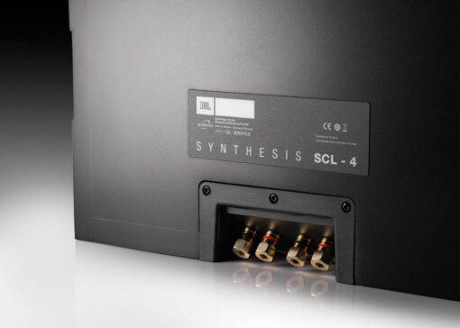JBL Synthesis SCL-4 innfelt høyttaler bakside med høyttaleterminaler