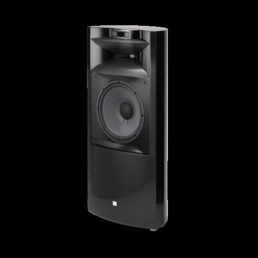 JBL K2 S9900 gulvstående høyttaler i sort høyglans finish uten deksel