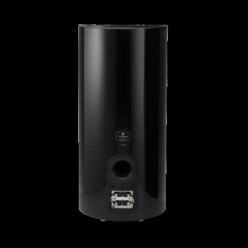 JBL K2 S9900 gulvstående høyttaler bakside i sort høyglans finish
