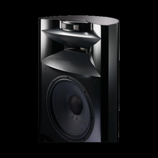 JBL K2 S9900 gulvstående høyttaler i sort høyglans finish detalj bilde