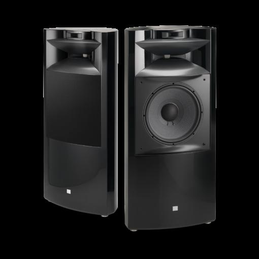 JBL K2 S9900 gulvstående høyttaler i sort høyglans finish