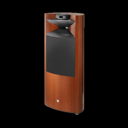 JBL K2S9900 gulvstående høyttaler i wood grain finish med deksel
