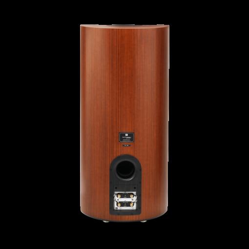 JBL K2S9900 gulvstående høyttaler bakside i wood grain finish