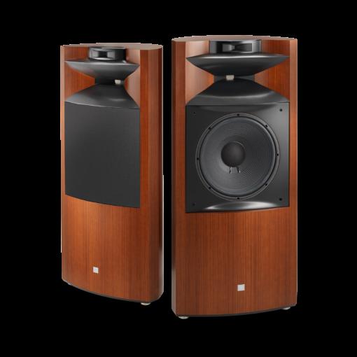 JBL K2S9900 gulvstående høyttaler i wood grain finish