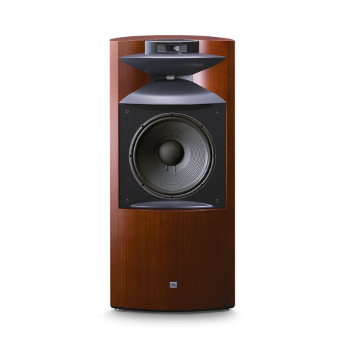 JBL K2 S9900 wood grain front with grille
