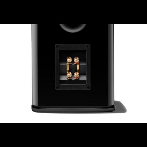 JBL HDI 1600 stativhøyttaler i sort fininsh terminaler bakside