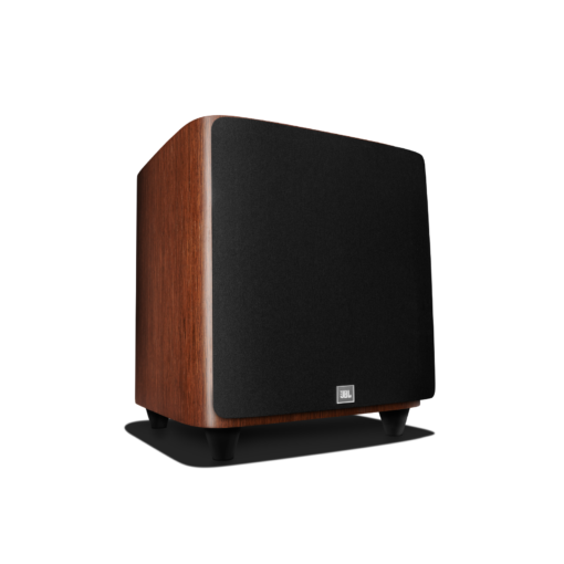 JBL HDI 1200P walnut with grille