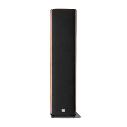 JBL HDI 3600 walnut front with grille