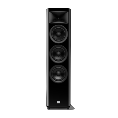 JBL HDI 3600 black front no grille