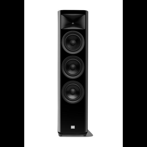JBL HDI 3600 gulvstående høyttaler i sort finish uten deksel