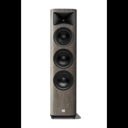 JBL HDI 3600 gulvstående høyttaler i grå finish uten deksel