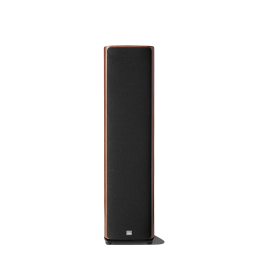 JBL HDI 3800 walnut front with grille