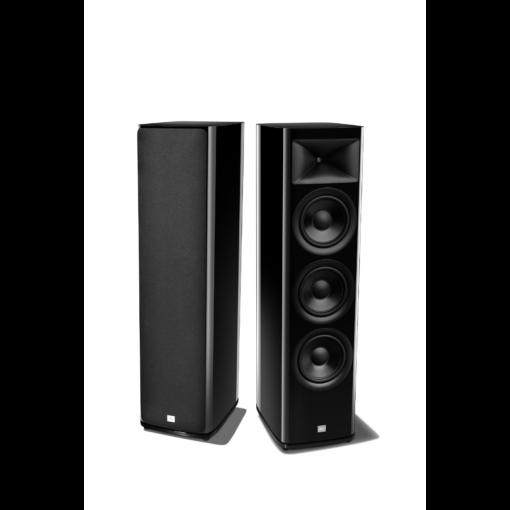 JBL HDI 3800 gulvstående høyttalerpar i sort finish