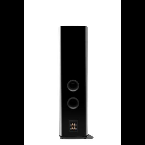 JBL HDI 3800 gulvstående høyttaler i sort finish bakside med høyttalerterminaler