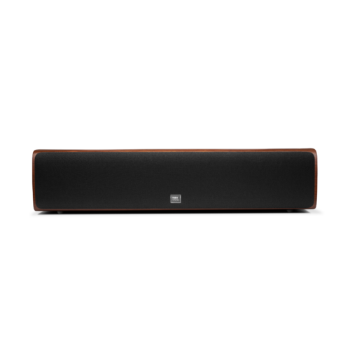 JBL HDI 4500 front with grille walnut