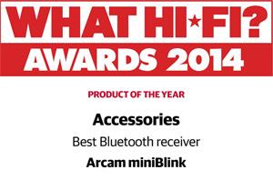 Arcam miniBlink What Hifi award