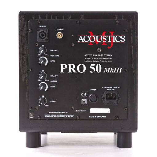 MJ Acoustics P50 Mk3 Subwoofer