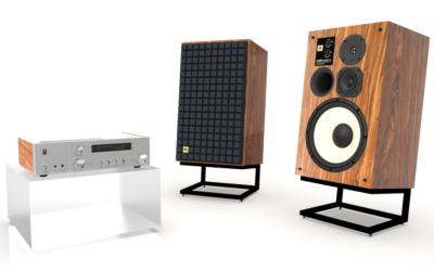 JBL starter 75-årsjubileet med nye 100 Classic 75-høyttalere og SA750 integrert forsterker