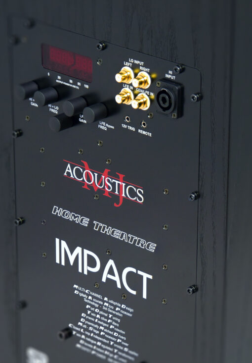 MJ Acoustics Impact Aktiv subwoofer