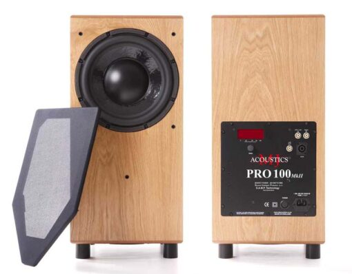 MJ Acoustics Pro 100Mk2 Aktiv subwoofer